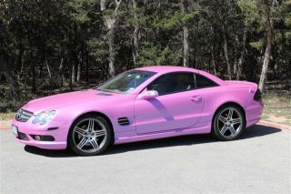 2004 Sl 500 Custom Pink Included,  Amg Rims photo