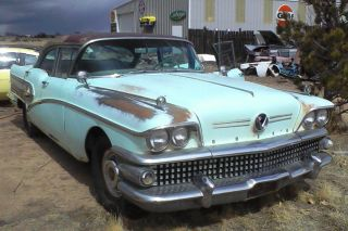 1958 Buick Special 4dr Sedan Barn Find Nailhead photo