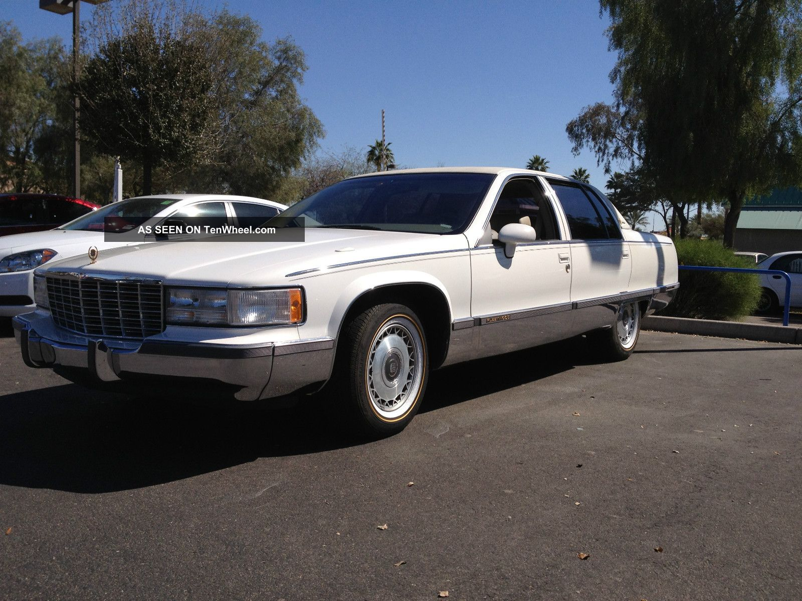 1994 cadillac fleetwood brougham sedan 4 door 5 7l fleetwood photo. Cars Review. Best American Auto & Cars Review