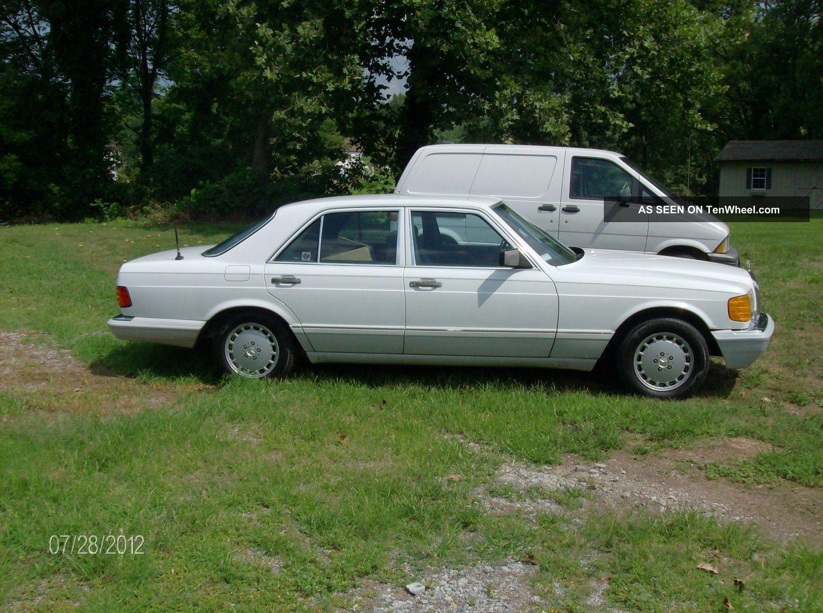1989 mercedes benz 300se base sedan 4 door 3 0l for 1989 mercedes benz