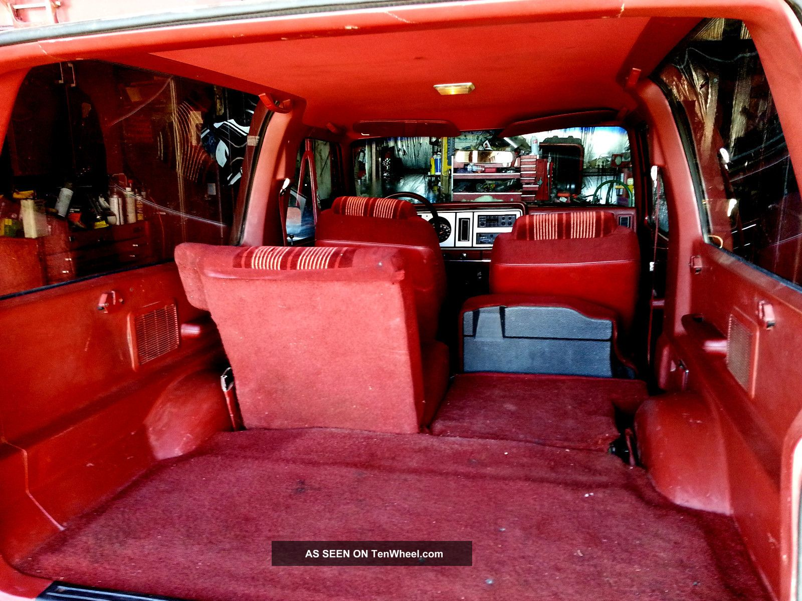 1987 Ford Bronco Interior 1987 Xls Classic Bronco Ford
