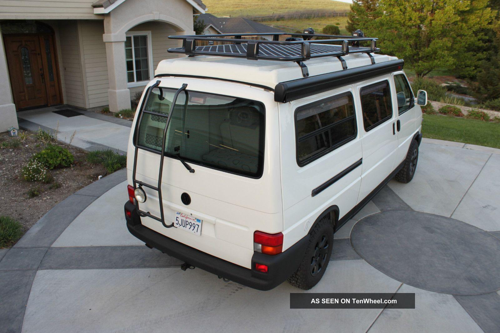 2002 Volkswagen Eurovan Winnebago Van Camper 2 Year