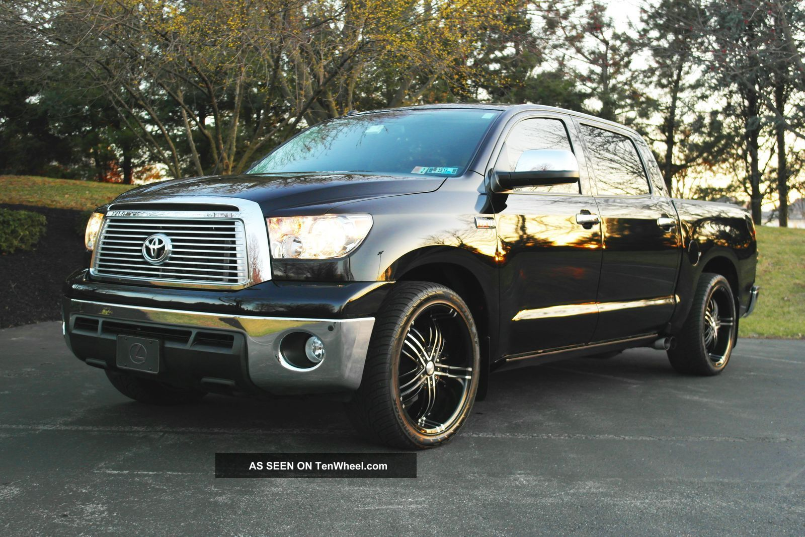 supercharged 2010 toyota tundra platinum crewmax. Black Bedroom Furniture Sets. Home Design Ideas
