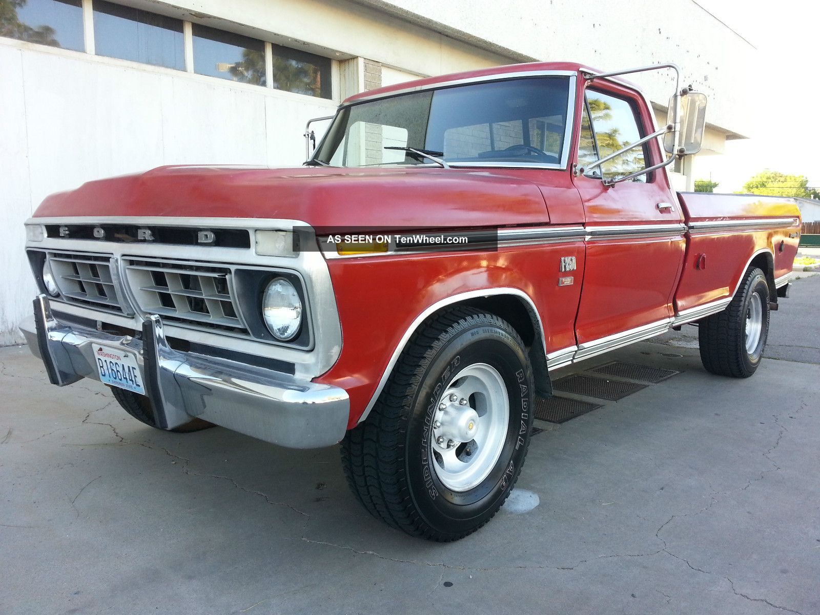 1976 Ford F250 Ranger Xlt 2wd 460 V8 Long Bed Automatic 76