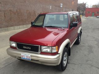 1997 Isuzu Trooper Ls Sport Utility 4 - Door 3.  2l 2nd Owner photo