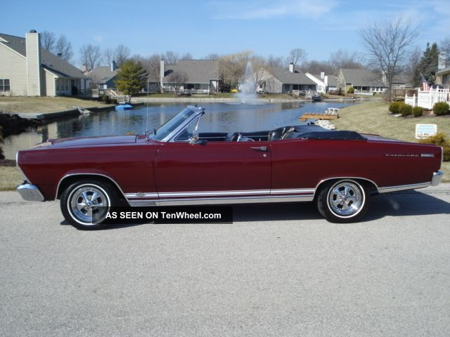 1966 Ford Fairlane 500xl Convertible Will Take Cash & Trade Awesome Condition Fairlane photo