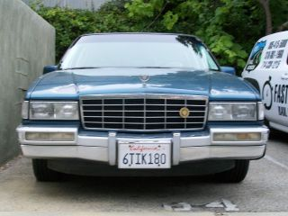 - - 1993 Cadillac Sedan Deville,  Rat Rod,  Lowrider,  Custom,  Low Rod,  Classic photo