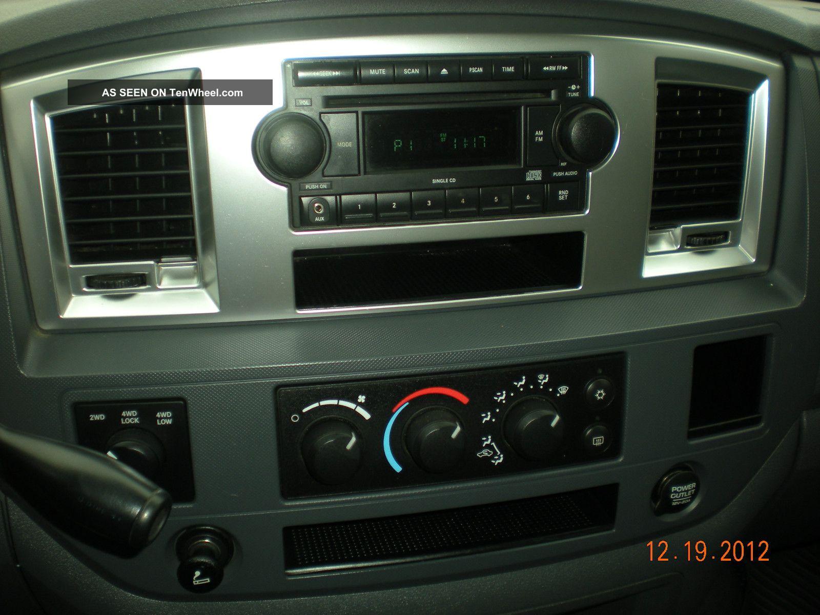 2007 Dodge Ram 2500 Mega Cab 5 9 Cummins Diesel Lifted Custom 4x4 20 S