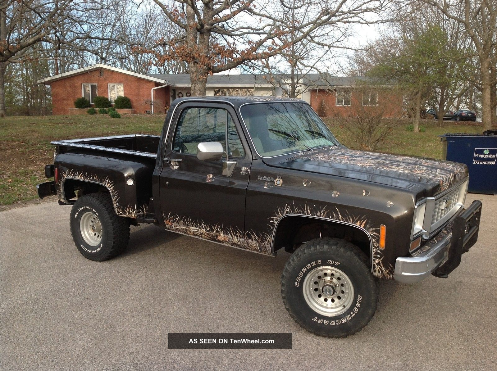 1978 Chevy Stepside C/K Pickup 1500 photo