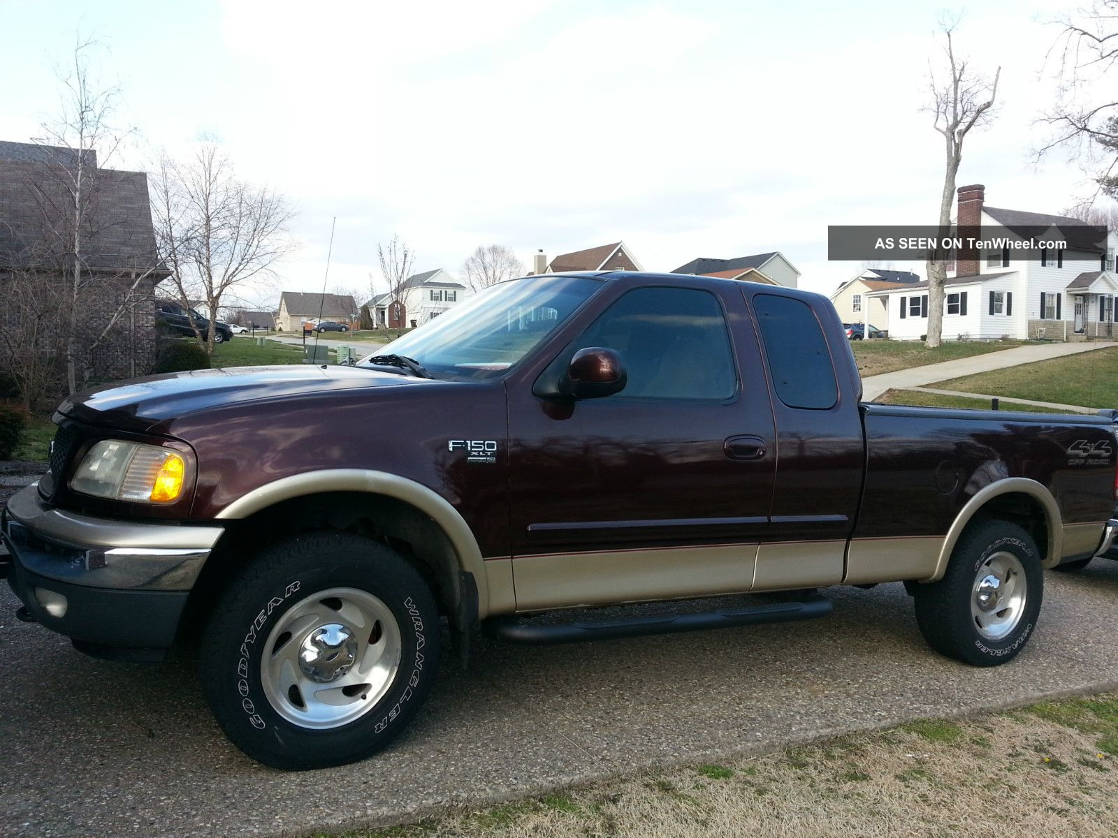 2000 f 150 xlt cab ford pick up truck 4x4 off road 5 4 v8 automatic