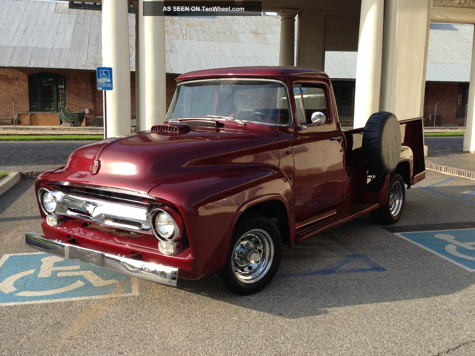 ford f100 f250 1956 classic pickup truck. Black Bedroom Furniture Sets. Home Design Ideas