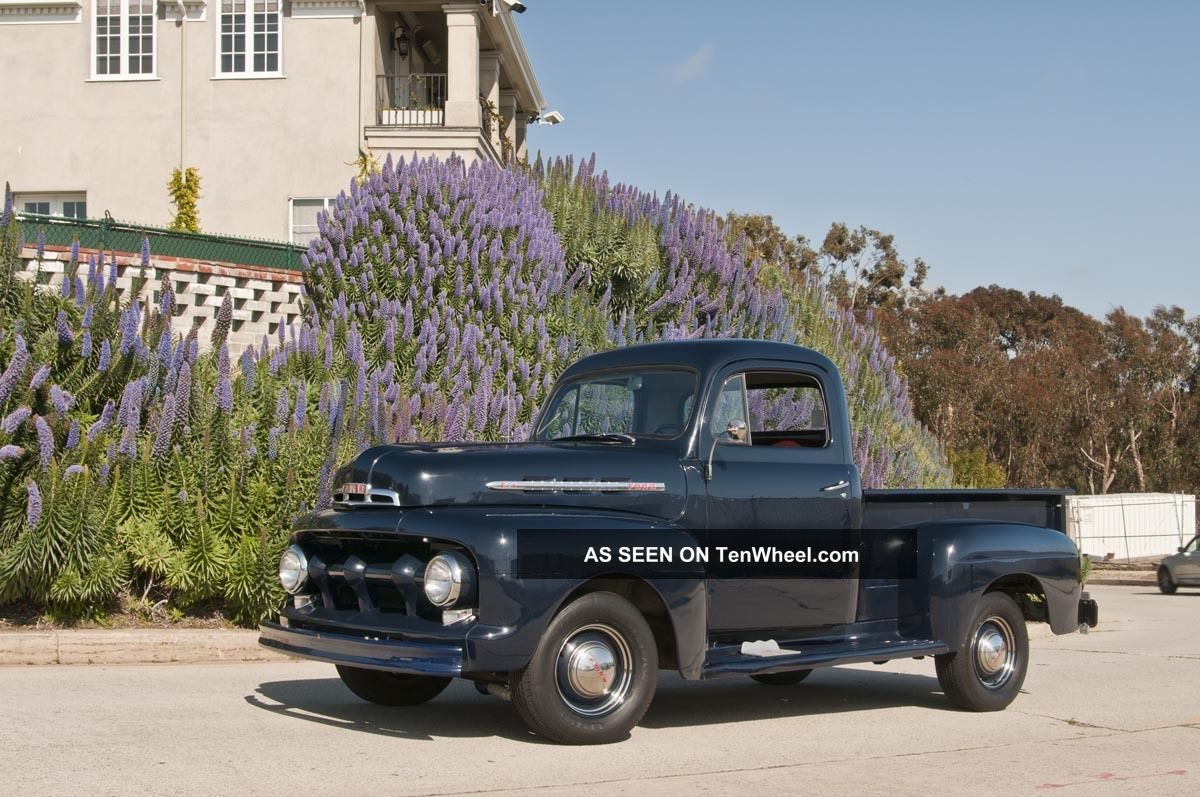 1951 Ford F - 1 Truck,  Short Bed Pickup,  Vintage Other photo