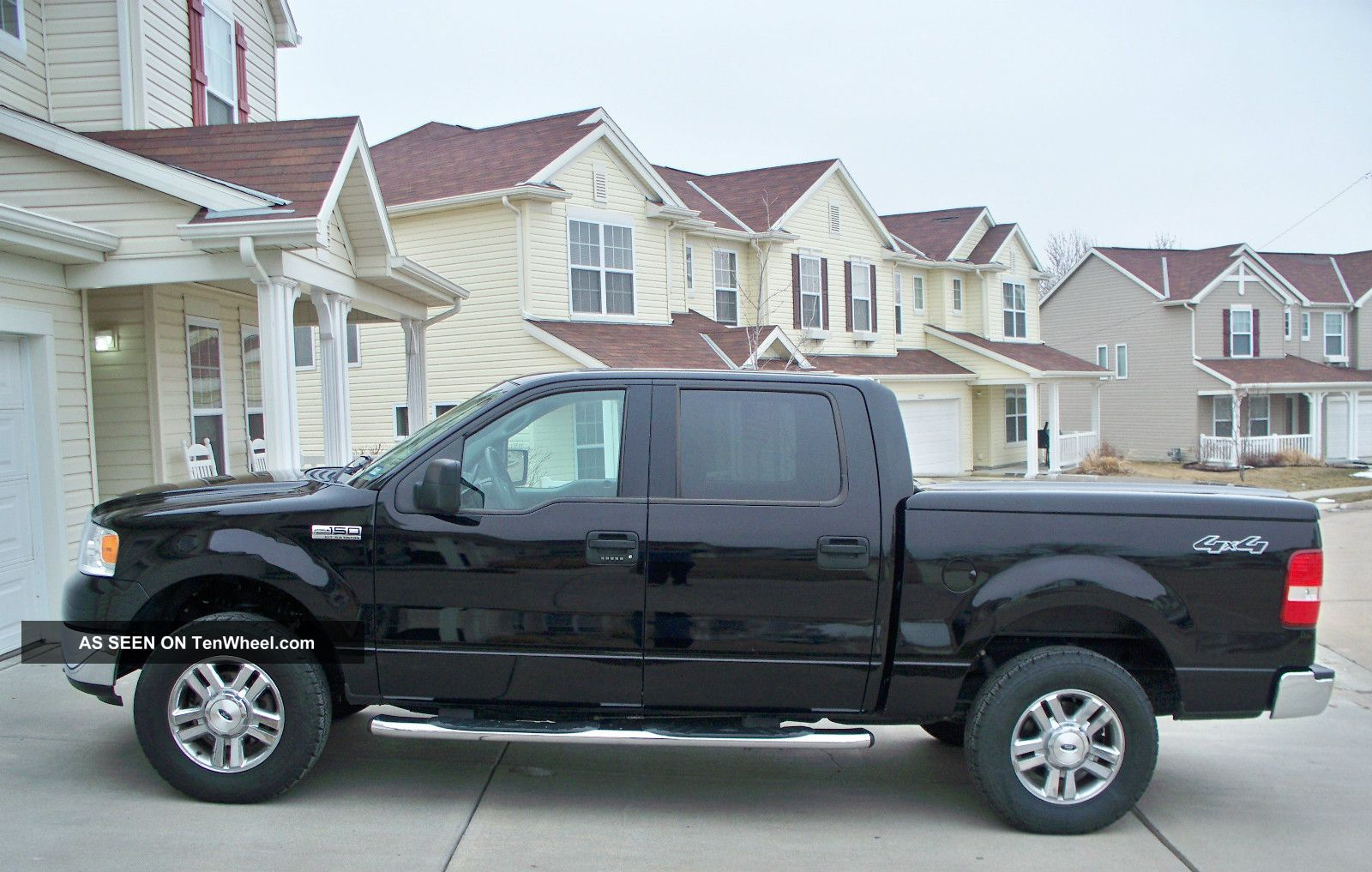 2006 ford f 150 xlt crew cab pickup 4 door 5 4l. Black Bedroom Furniture Sets. Home Design Ideas