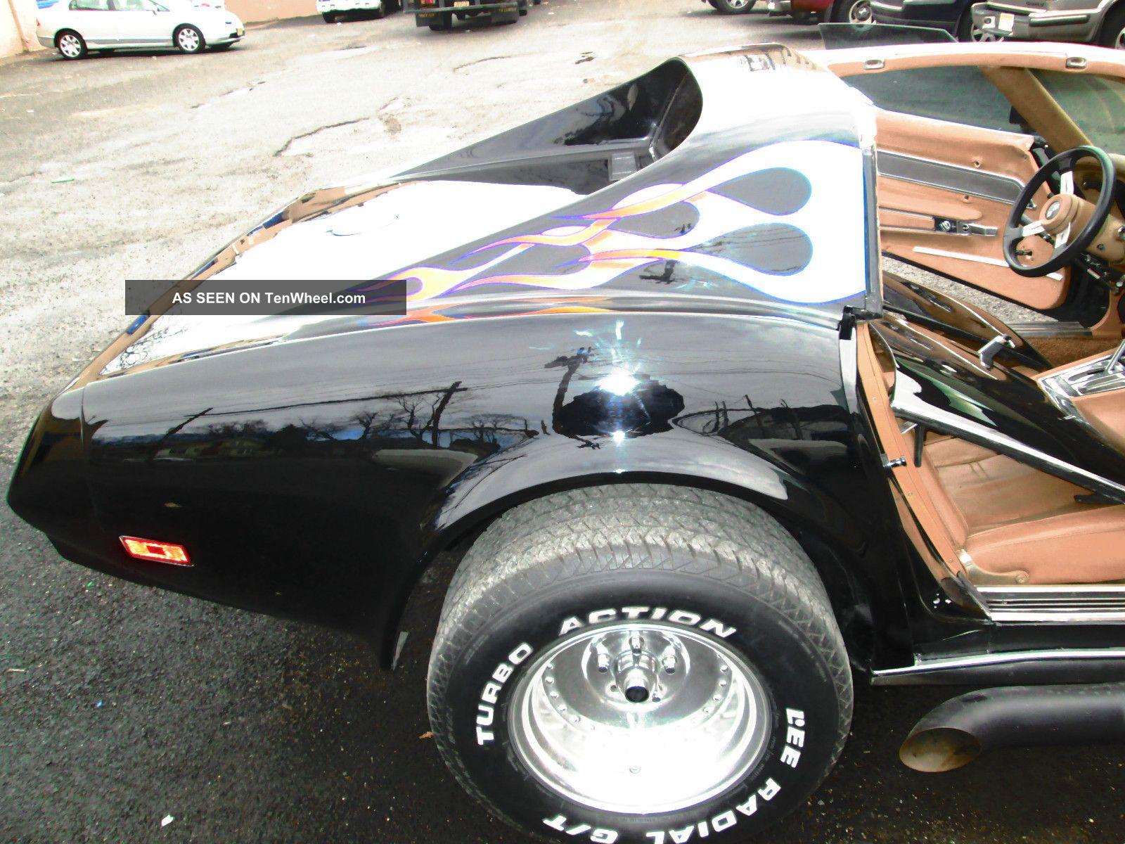 1974 Corvette, Hot Rod. . . . . . Old School Vette