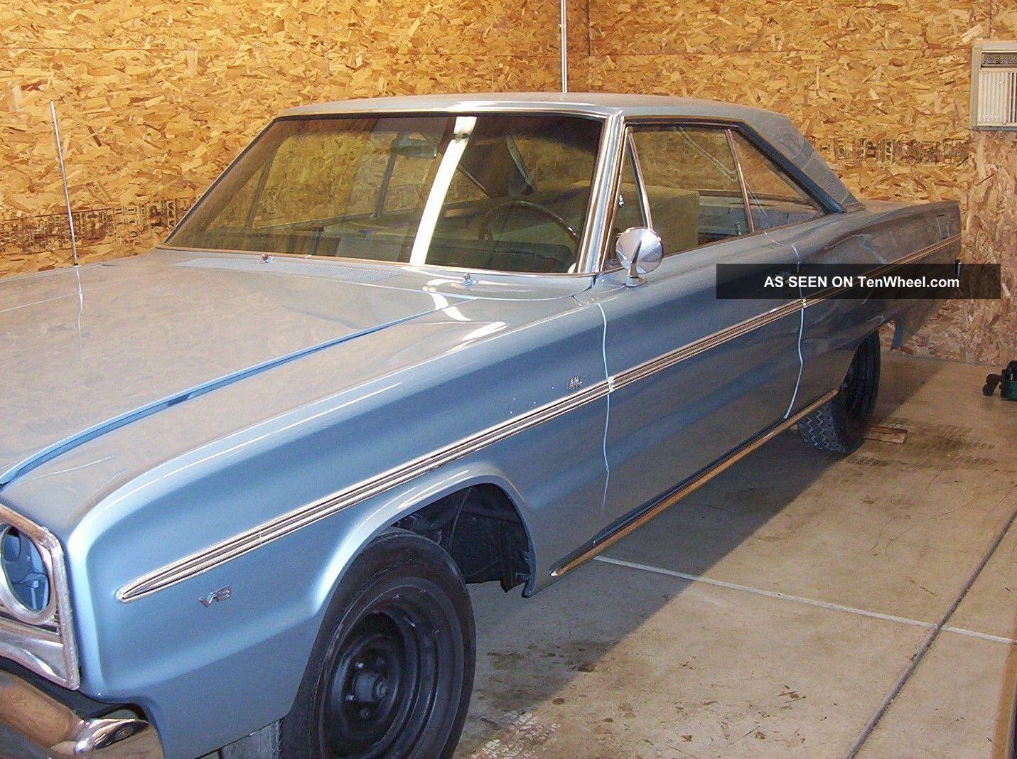 1966 Dodge Coronet 440,  Two Door Hardtop Factory 4speed Car Coronet photo