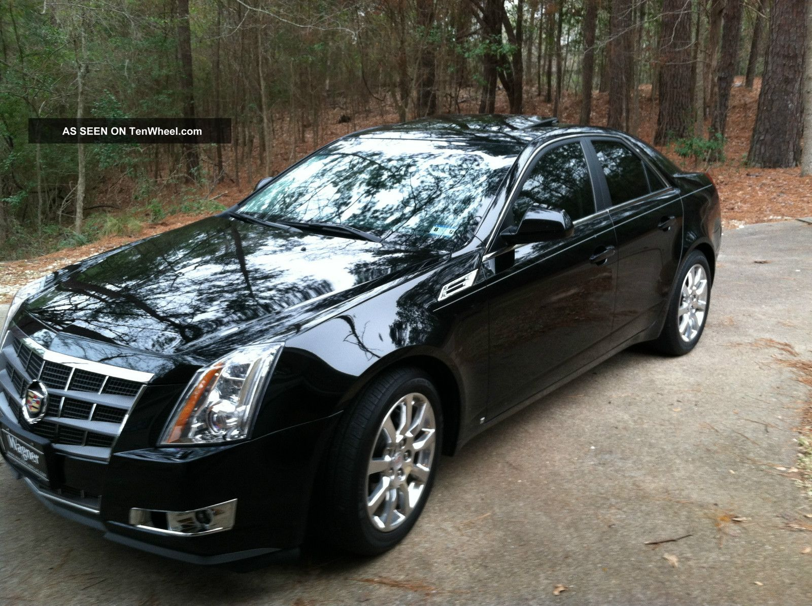 2009 cadillac cts base sedan 4 door 3 6l. Black Bedroom Furniture Sets. Home Design Ideas
