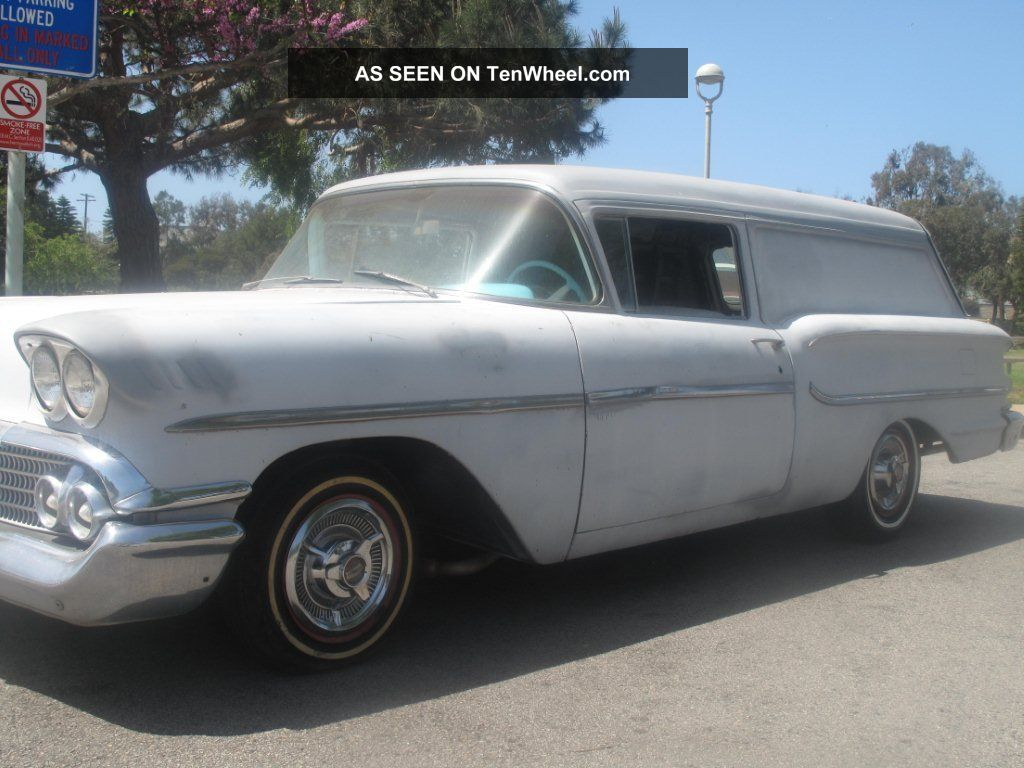 Chevrolet 1958 Delray Delivery Sedan California Car With Video Other Makes photo