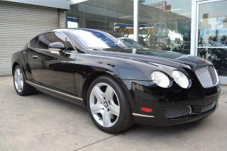 2005 Bentley Continental Gt Coupe 2 - Door 6.  0l Jet Black / Red Interior photo