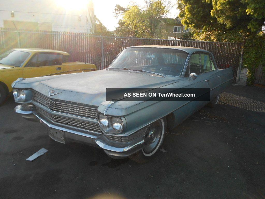 & 1964 Cadillac Deville 4 Doors Automatic