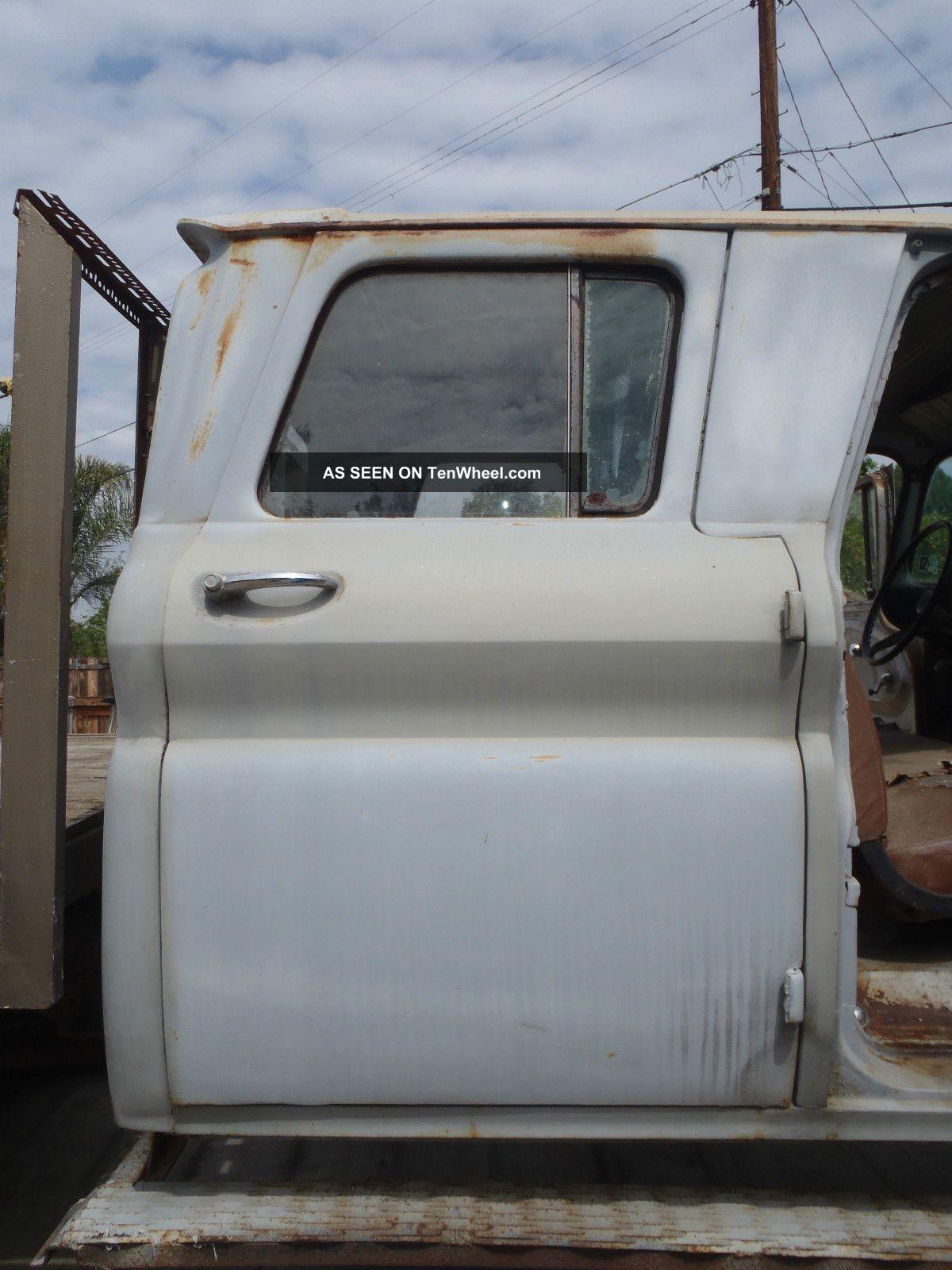 1961 Chevy Crew Cab 3 Door 100 Pics To View Rare Railroad