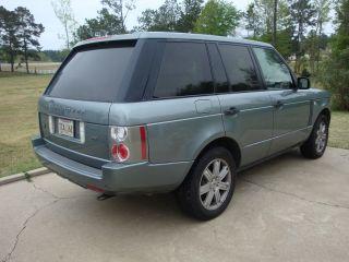 2006 Range Rover Land Rover Hse photo