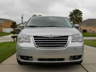 2008 Chrysler Town And Country Limited Luxury 4.  0 Silver Mini Van photo