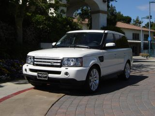 2009 Range Rover Sport Luxury Ed.  White / Black,  2011 Upgrades,  Immac.  So.  Ca.  Car photo