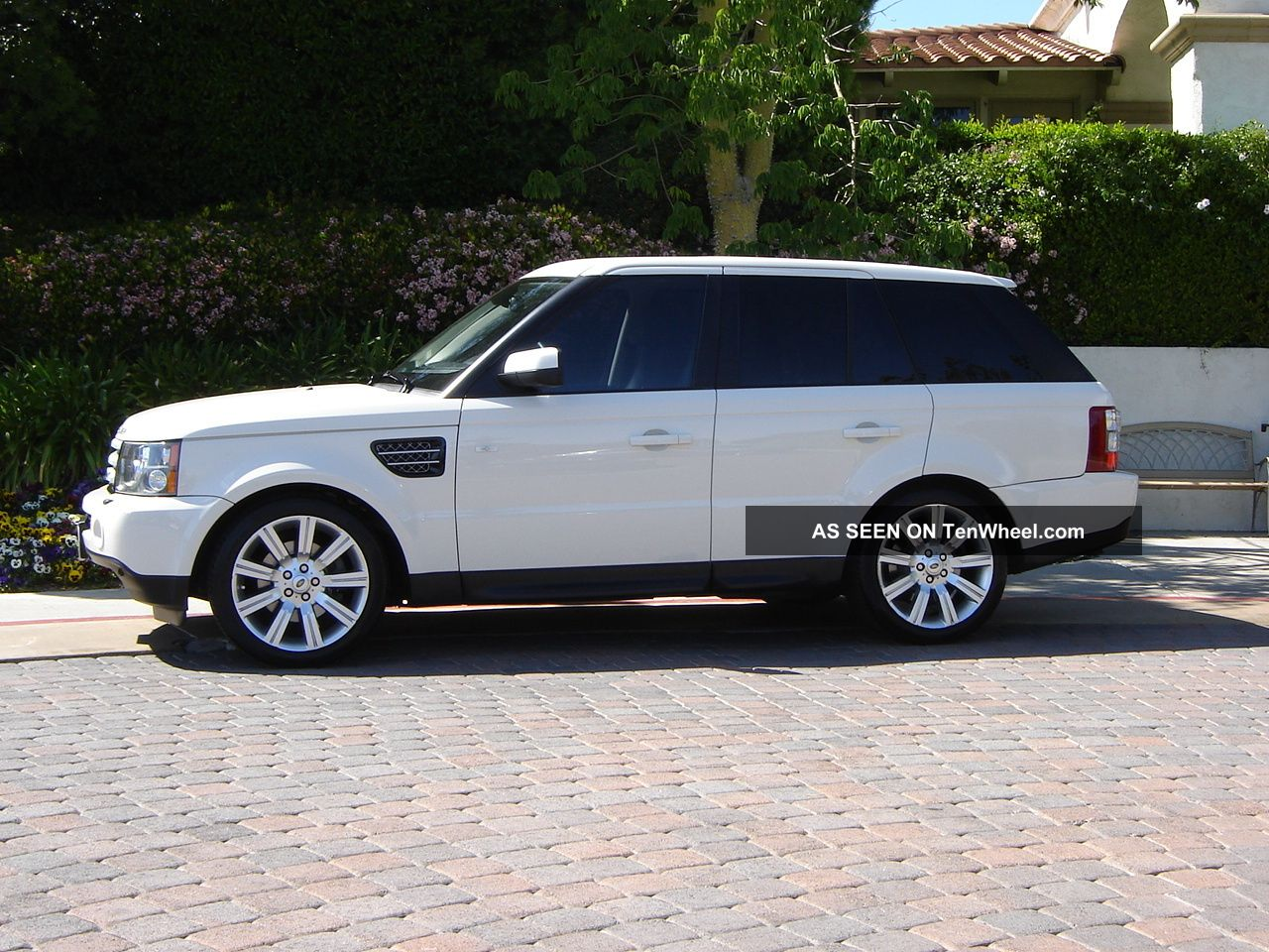 2009 Range Rover Sport Luxury Ed White Black 2011