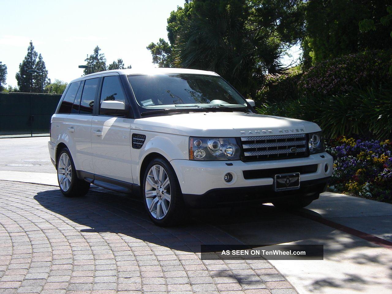 2009 Range Rover Sport Luxury Ed White Black 2011