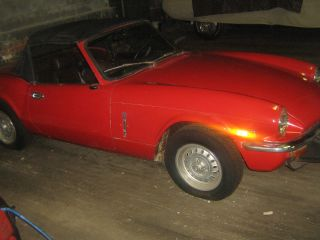 1974 Triumph Spitfire Base Convertible 2 - Door 1.  5l photo