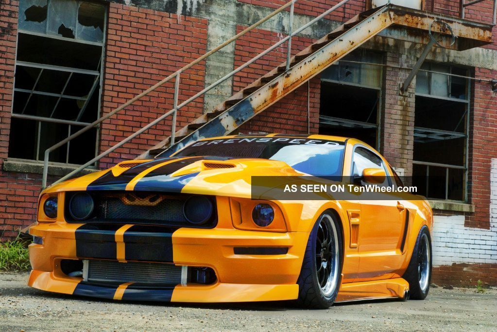 2008 Ford Mustang Gt Sherrod Kenne Bell 2.  8 W / 888rwhp @ 30.  8lbs Of Boost Mustang photo