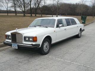 1983 Rolls Royce Silver Spirit Limousine 38