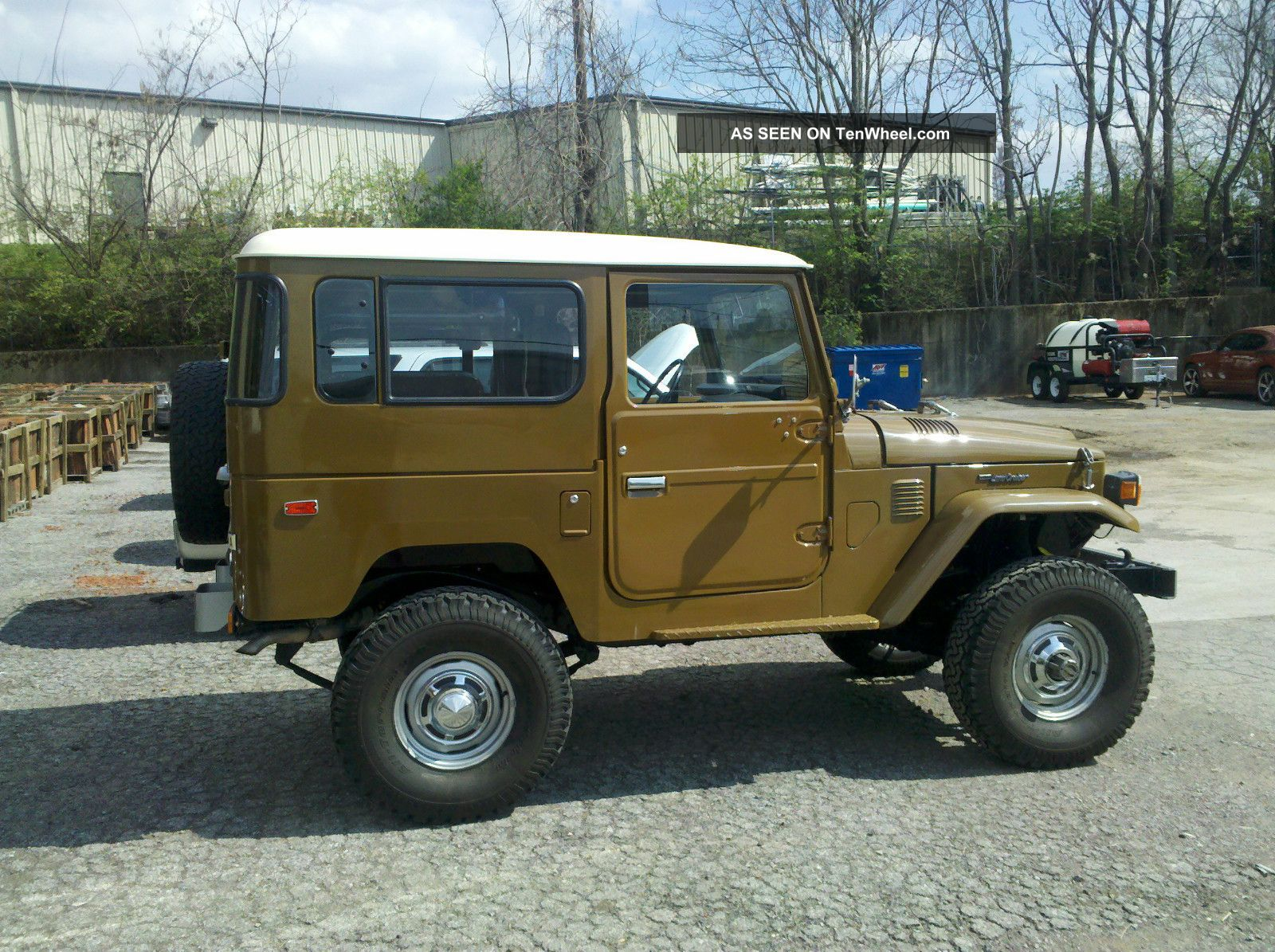 1977 Toyota Land Cruiser Fj40 4.  2l Land Cruiser photo