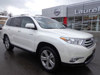 2012 Highlander Limited 4wd Rear Camera 3rd Row photo