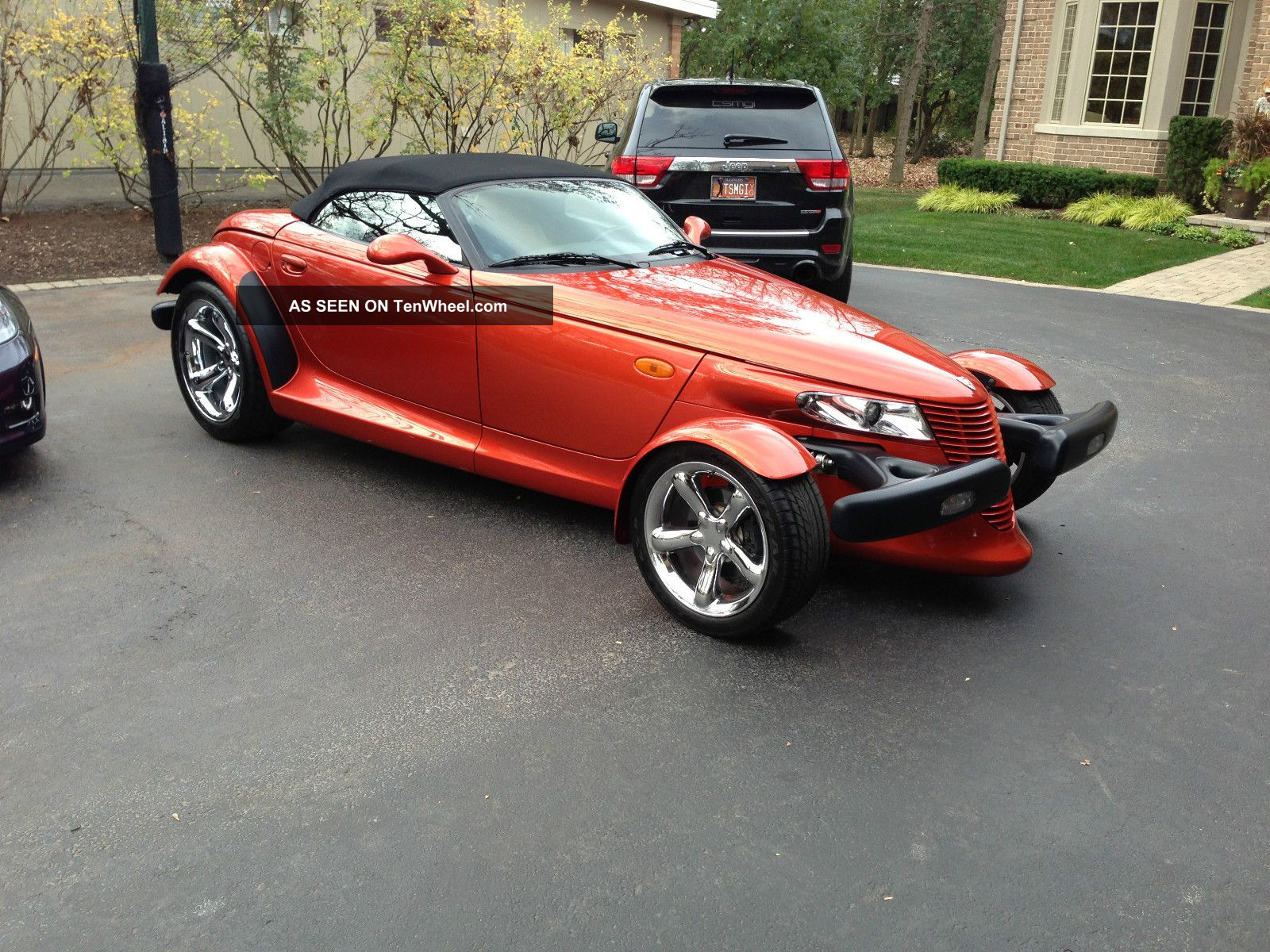2001 Plymouth Prowler Base Convertible 2 Door 3 5l