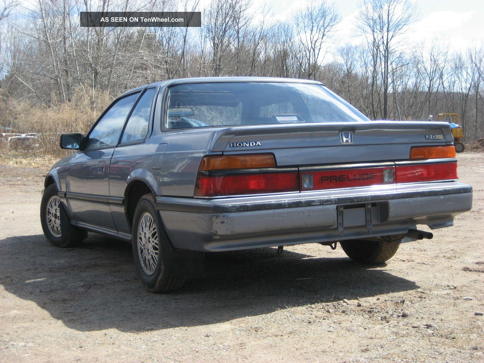 1987 Honda Prelude 2 0 Si 84k