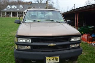 1997 Chevrolet K2500 Cheyenne Extended Cab Pickup 2 - Door 5.  7l photo