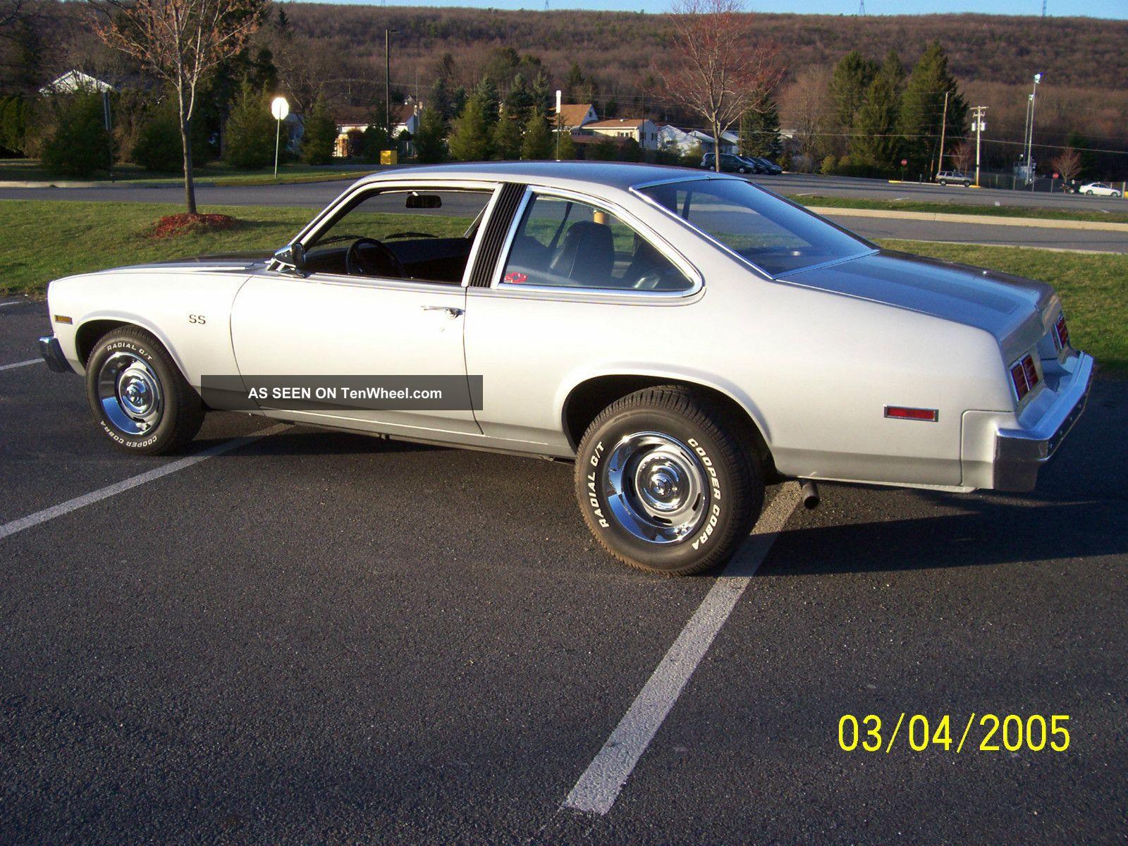1976 Chevy Nova Ss 4 Speed