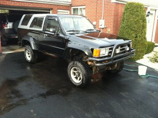 1989 Toyota 4runner Sr5 Sport Utility 2 - Door 3.  0l photo