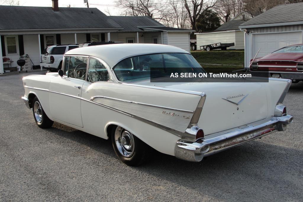 1957 chevy belair 2 door hardtop v8 auto for 1957 chevy 2 door