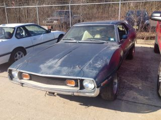 1973 Amc Javelin Project Car 401 photo
