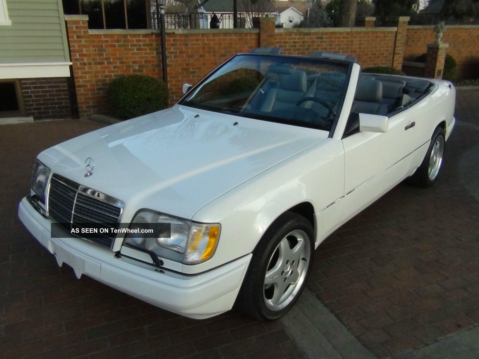 1995 mercedes benz e230 cabriolet hand built ltd edition for Mercedes benz e230