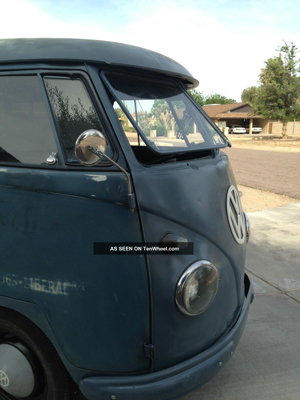 1958 Vw Panel Bus / Og / Logo / / Complete / Awesome Ride Bus/Vanagon photo