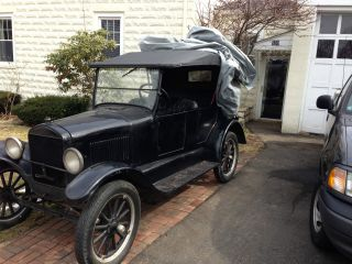 1927,  1926,  1927 Ford Touring Model T (three) photo