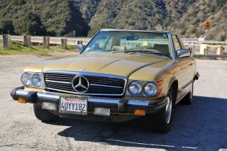1977 Mercedes Benz 450 Sl - Two Owner California Vehicle photo