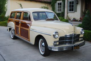 1949 Plymouth Woodie (woody) Wagon, photo