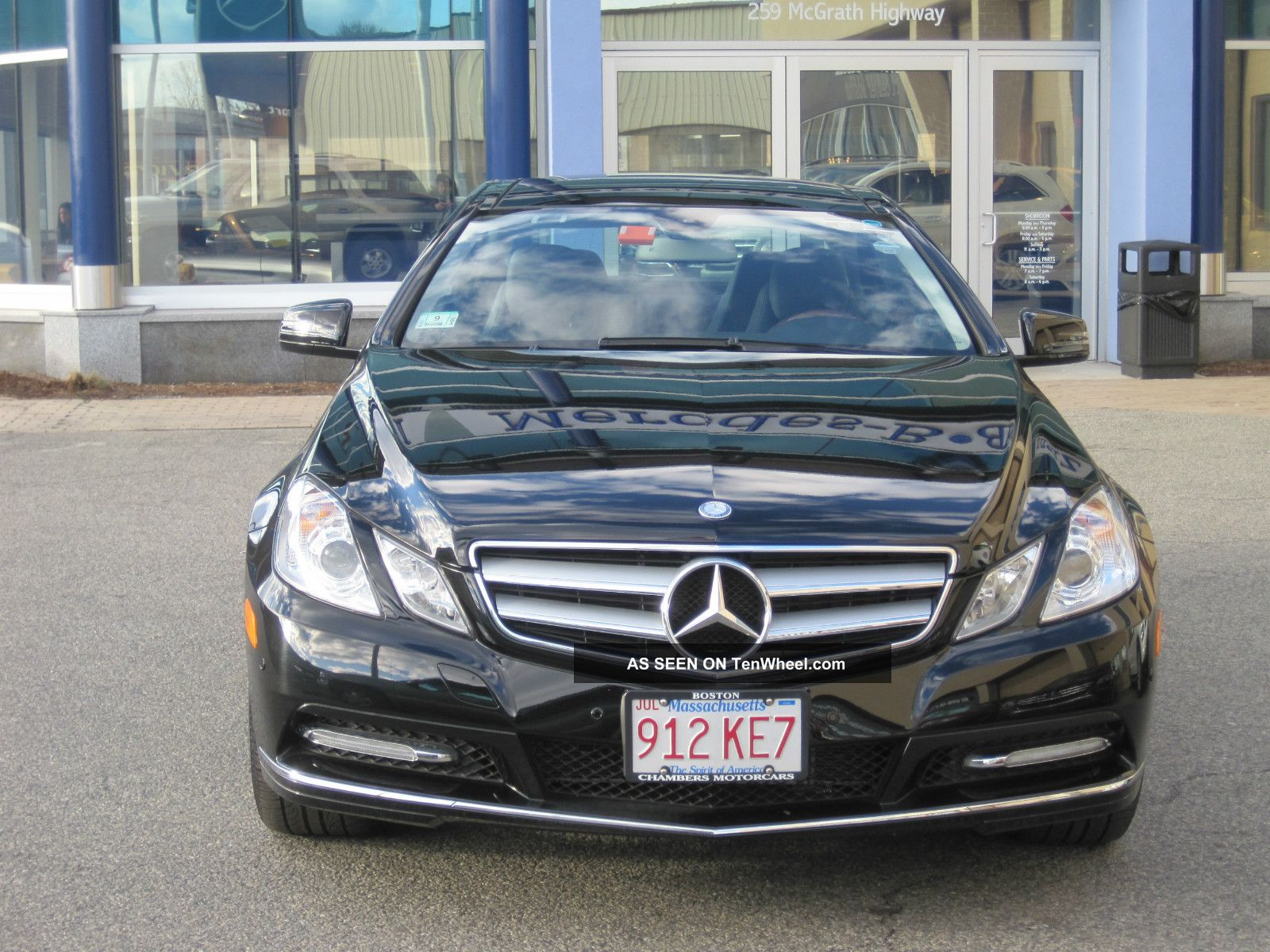 2012 mercedes benz e class e350 bluetec coupe matic for Mercedes benz packages
