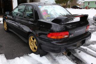 1998 Subaru Impreza Rs Coupe 2 - Door 2.  5l photo