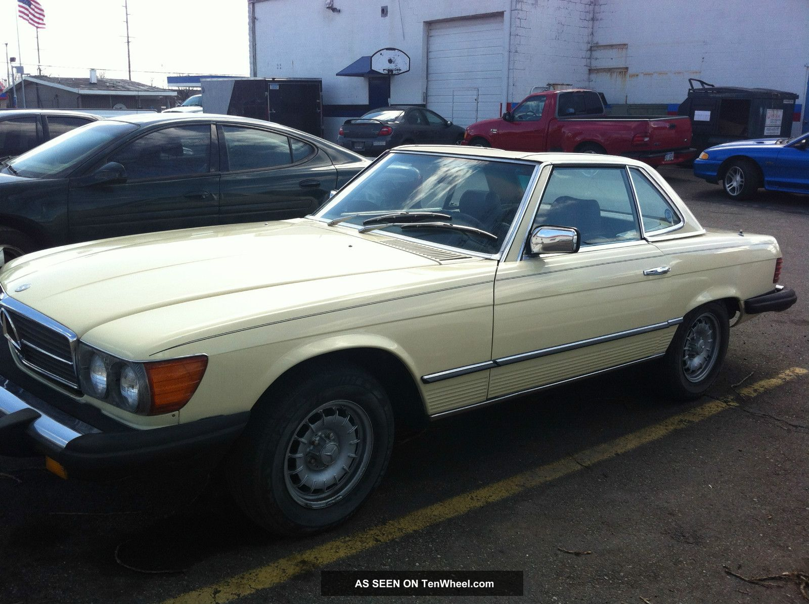 1981 mercedes benz 380sl base convertible 2 door 3 8l for 380sl mercedes benz
