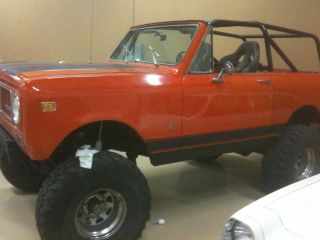 1973 Scout Ii 4sp,  4x4, photo